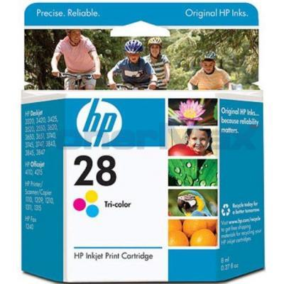 HP NO 28 INKJET TRICOLOR